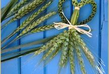 bouquet blé mariage
