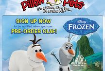 Olaf Pillow Pet coming soon!!! / Sign up to be notified when Olaf is ready for pre-order at www.mypillowpets.com