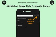 Meditation Relax Club Spotify Codes