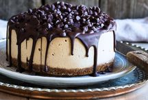 Vegan mocha cheesecake