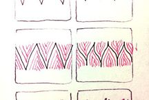 Zentangle Patterns / 젠탱글 패턴 모음