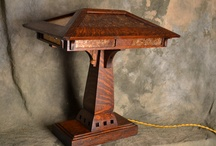Mission Style Desk Lamp