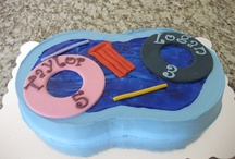 Cakes, for swimming / Cakes for Pool Parties, Pool  Party Cakes