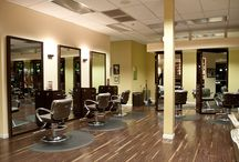 Salon and Spa Designs / Ideas and inspiration for fabulous salon, spa and barber shop designs