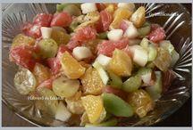 Gyümölcssaláták