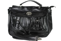 Satchel Bag / An ideal Satchel Bag for working ladies to accommodate all your office stuff. The shoulder strap even makes it more easier to carry. http://www.transfashions.com/en/women/bags/satchel-bag.html