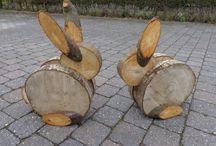 basteln aus Holz