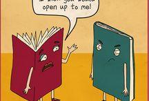 Cartoons over lezen /cartoons reading