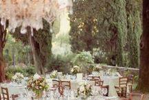 a romantic wedding.