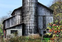 Old Barns and Farms / by Paige Ottum