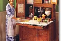 Hoosier cabinets / by Sandy Allison