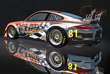 2016 Team Cars / Various car skin designs for the 2016 Leagues Deltec Racing will participate in. Designs by Riaan van der Westhuizen