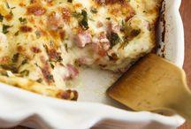 Pasta, lasagna, pizza