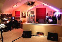 Home Studio / Home music and recording studio.