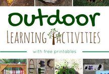 Kreativ: Naturmaterialer og udendørsaktiviteter