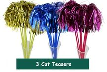 Cat Toys / A Board that is dedicated for all of the cat owners! These toys will keep your kitties purr for hours! xoxo