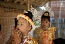 Travel Burma / Travel photography in Burma with lots of tradition colour and fun.