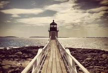 Lighthouses!!!! / One reason so many people come to the coast of Maine is to experience the history and beauty of our many lighthouses.