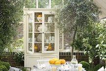 Trädgård uterum