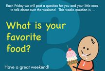 A Question for the Weekend / Conversation is important! Each week we are publishing questions that you can ask your child and get the conversation going.