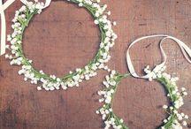 tiaras de flores
