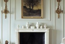 Panelling fireplace