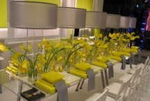 Weddings Ideas - Luscious Lemon Yellow / Inspiration for weddings using yellow.