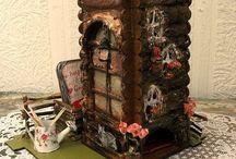 Чайные домики и шкатулки