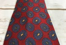ties / you have to wear them, you might as well be cool about it