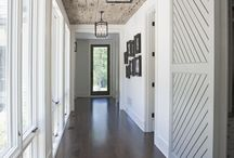 Hallway Spaces / Hallway and foyer design and ideas / by Laura Goetzke