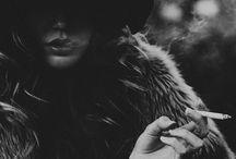 S m o k e / by Olya Dzhygyr