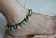 Anklets - beaded