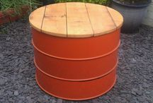 Metal Drums - upcycle ideas