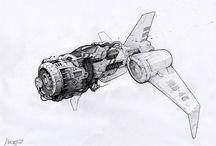 Machines & Spaceships