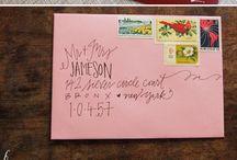 Handwriting / by Mindy Muellenborn