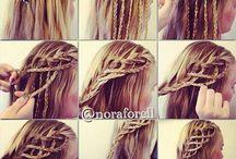 Hair stepbystep