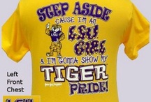 LSU / by Danielle Crosby Johnson
