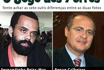 Brasil (Renan Calheiros) / Charges, frases, quadros e textos sobre Renan Calheiros.