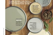 Kitchen Color Schemes / by Mary Jo Hiney Designs