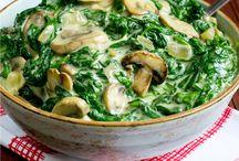 TAS work (baby spinach dishes)