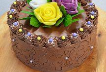 kremové dorty