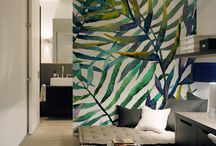 pattern wall painting