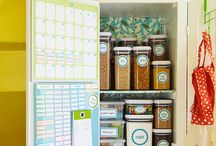 Pantry Ideas / Ideas for our new pantry =] / by Jaimie Bisher