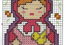 cross stitch matrioshka