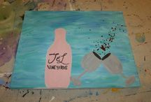 Fun+Art+Wine Artwork / Works of art created at Fun+Art+Wine Events