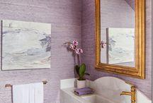 bathroom lilac