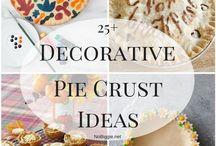 decorative pie crust ideas (Πίτες)
