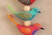 A polymer clay birds / by Rosemary Probst