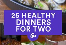 25 Healty dinners for 2