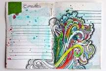 Art Journal Inspriations / by Melissa Wisen
